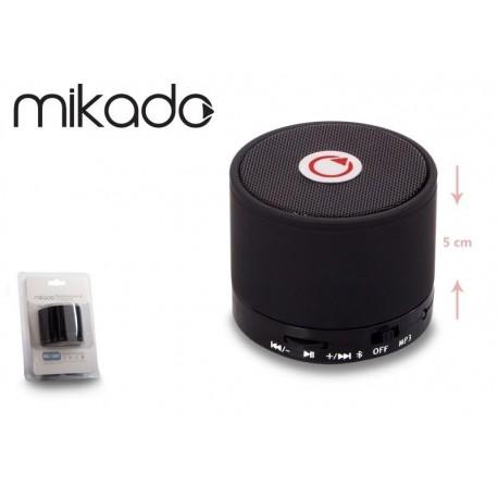 Głośnik Bluetooth Mikado MD-10BT Black Mikrofon Radio FM Metalowy