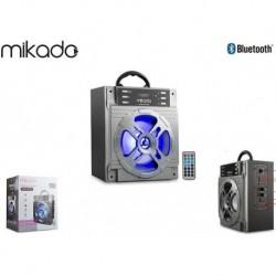 Głośnik Bluetooth Mikado MD-455 10W USB+SD+FM Karaoke LED