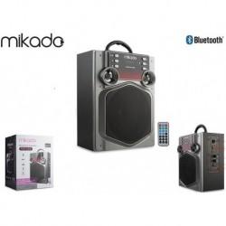 Głośnik Bluetooth Mikado MD-466 15W USB+SD+FM KARAOKE