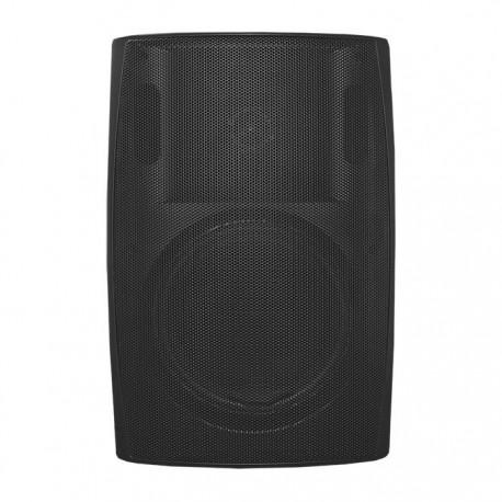 Głośnik QOLTEC Dwudrożny naścienny 20W | 21cm | 8 Om | TRAFO | czarny