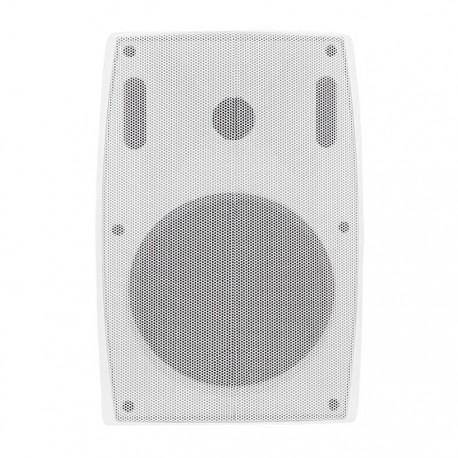 Głośnik QOLTEC Dwudrożny naścienny 30W | 25cm | 8 Om | TRAFO | biały