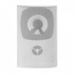 Głośnik QOLTEC Dwudrożny naścienny | RMS 10W | 15cm | 8 Om | TRAFO | Biały
