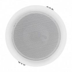Głośnik QOLTEC Dwudrożny sufitowy | wodoodporny | RMS 6W | 16cm | 8 Om | TRAFO | Biały