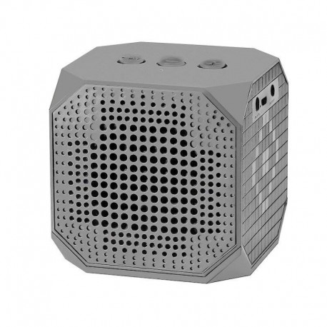 Głośnik Qoltec bluetooth 3W | Double Speaker | szary