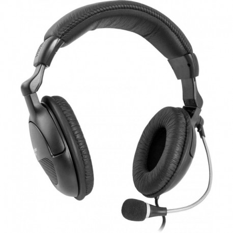 Słuchawki z mikrofonem DEFENDER ORPHEUS HN-898 kabel 3m czarne