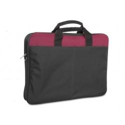 """Torba na notebooka laptop SNOPY DR-650 15,6"""" czarno-czerwona"""