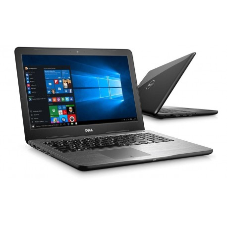 "Notebook Dell Inspiron 15 5567 15,6""HD/i5-7200U/4GB/1TB/iHD620/W10 Black"
