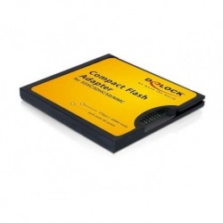 Adapter Delock Karty Pamięci SD/MMC- Compact Flash (CF)