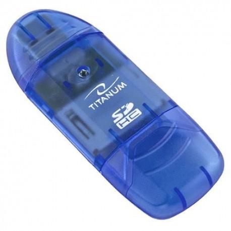 Titanum Czytnik Kart SDHC/MicroSDHC TA101B (SDHC Pen Drive)
