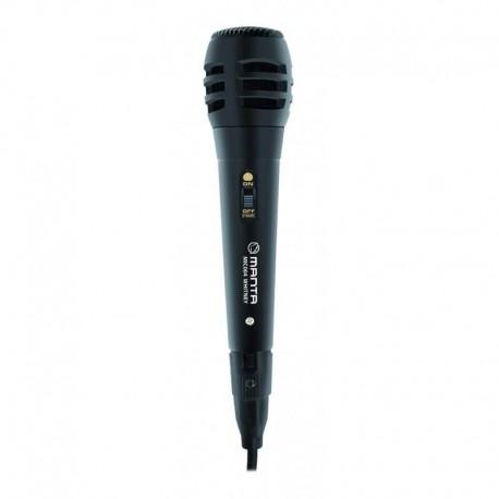 Mikrofon przewodowy Manta MIC004 karaoke (2 m)