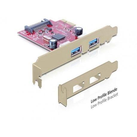 Karta PCI EXPRESS Delock USB 3.0 2PORT+SATA Internal port+LP