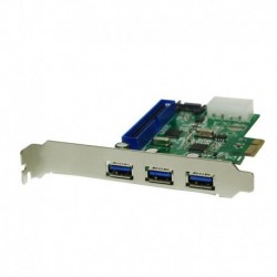 Kontroler PCI Express LogiLink PC0069 3x USB 3.0 / SATA II / IDE