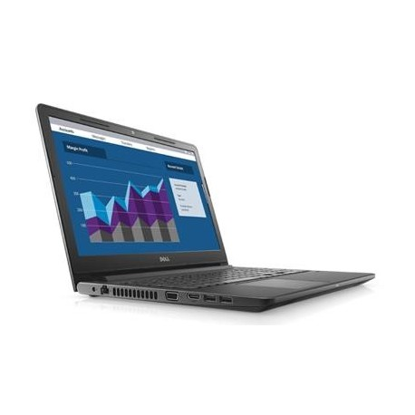"Notebook Dell Vostro 3568 15,6""FHD/i5-7200U/8GB/SSD256GB/iHD630/10PR Black"