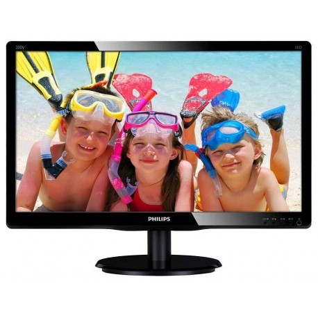 """Monitor Philips 19,5"""" MVA 200V4QSBR/00 DVI"""