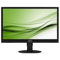 "Monitor Philips 24"" 241S4LCB VGA DVI"
