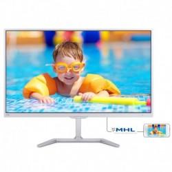 """Monitor Philips 23,6"""" 246E7QDSW/00 PLS DVI HDMI MHL biały"""