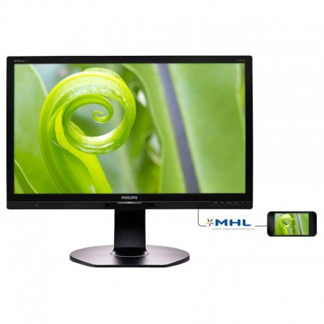 "Monitor Philips 23,8"" 241P6EPJEB/00 IPS-ADS VGA DVI HDMI DP głośniki"