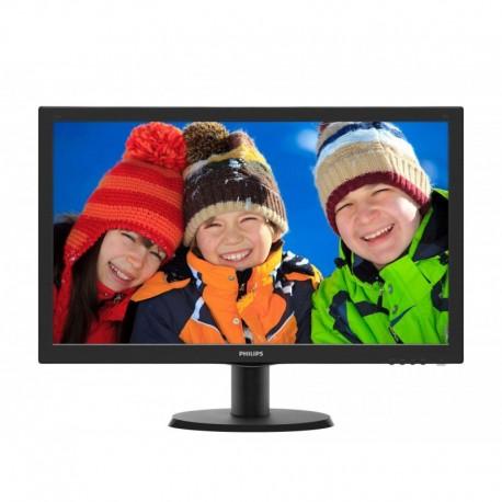 """Monitor Philips 23,8"""" 243V7QDAB/00 VGA DVI"""