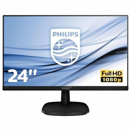 "Monitor Philips 23,8"" 243V7QJABF/00 HDMI VGA"