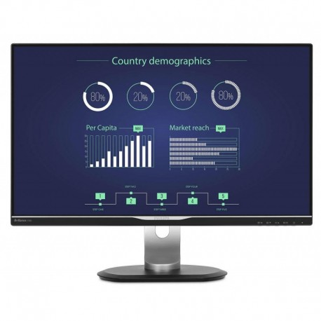 "Monitor Philips 25"" 258B6QUEB/00 IPS VGA DVI HDMI DP głośniki"