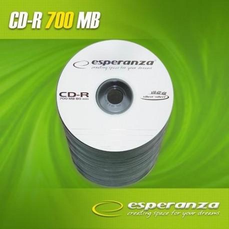 CD-R ESPERANZA 56x 700MB (Spindle 100) SILVER