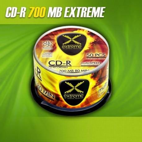 CD-R EXTREME 56x 700MB (Cake 50)