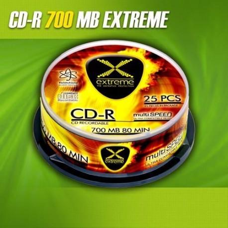 CD-R EXTREME 56x 700MB (Cake 25)