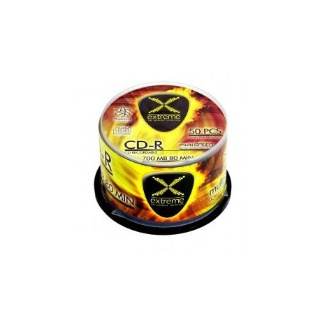 CD-R Extreme 700MB/80Min x 56, Cake Box 50 szt.