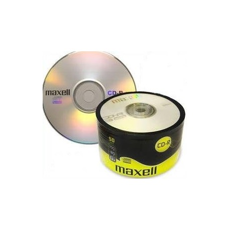 CD-R MAXELL 700 MB 52x SZPINDEL 50