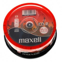 CD-R MAXELL MUSIC 700MB XL II  CAKE 25