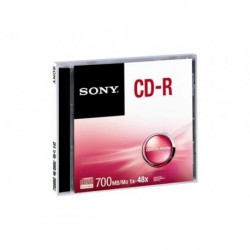 CD-R SONY x48 700MB (5 Pack Jewel)