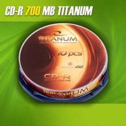 CD-R TITANUM 56x 700MB (Cake 10)