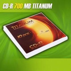 CD-R TITANUM 56x 700MB (Koperta 10)