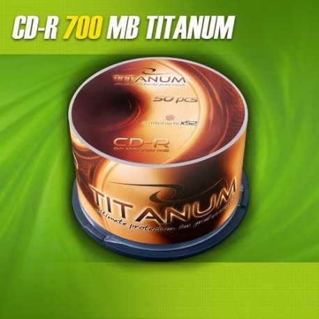 CD-R TITANUM 56x 700MB (Cake 50)