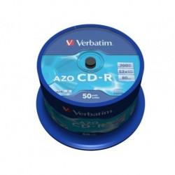 CD-R VERBATIM 700MB AZO (CAKE 50)