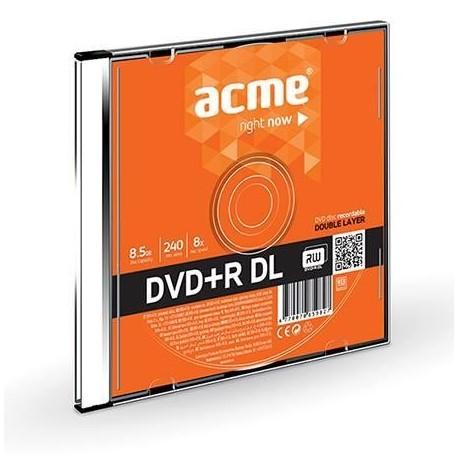 DVD+R ACME double layer 8.5GB 8X slim box