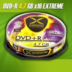 DVD+R EXTREME 16x 4,7GB (Cake 10)