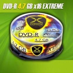 DVD-R EXTREME 16x 4,7GB (Cake 25)