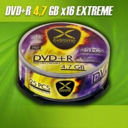 DVD+R EXTREME 16x 4,7GB (Cake 25)