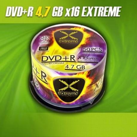 DVD+R EXTREME 16x 4,7GB (Cake 50)