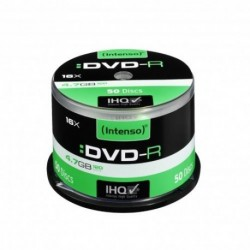 DVD-R INTENSO 4.7GB X16 (50 CAKE)