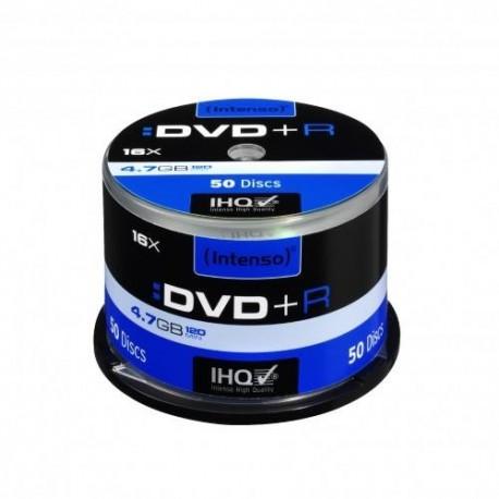 DVD+R INTENSO 4.7GB X16 (50 CAKE)