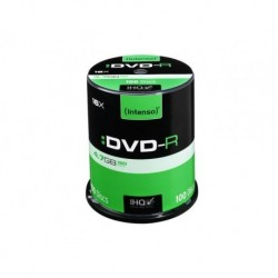 DVD+R INTENSO 4.7GB X16 (100 CAKE)