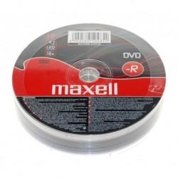 DVD-R MAXELL 4,7 GB 16x SZPINDEL 10