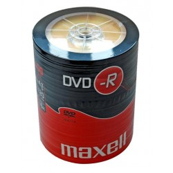 DVD-R MAXELL 4,7 GB 16x SZPINDEL 100