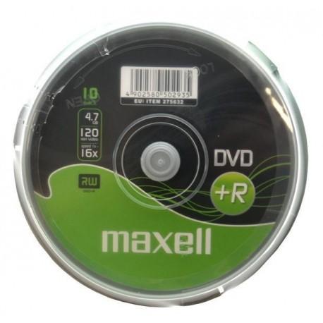DVD+R MAXELL 4,7GB 16x CAKE 10