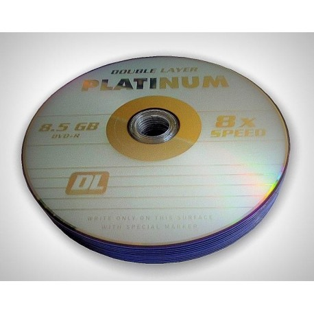 DVD+R DL PLATINUM 8,5 GB SZPINDEL 25