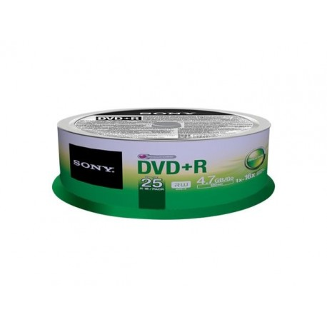 DVD+R SONY x16 4,7GB (Cake 25)