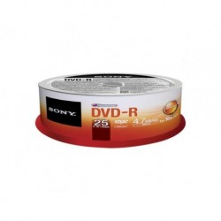 DVD-R SONY x16 4,7GB (Cake 25)