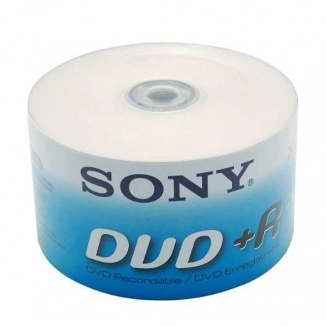 DVD+R SONY x16 4,7GB (Spindle 50)